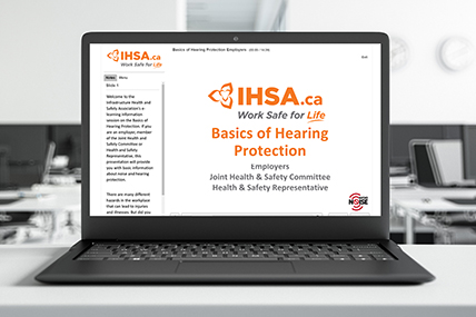 Hearing Protection for Employers eLearning course