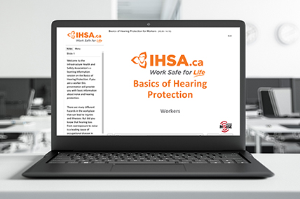 Hearing Protection for Workers eLearning
