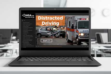 Distracted Driving eLearning course