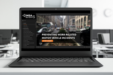 Preventing Work-Related Motor Vehicle Incidents eLearning course