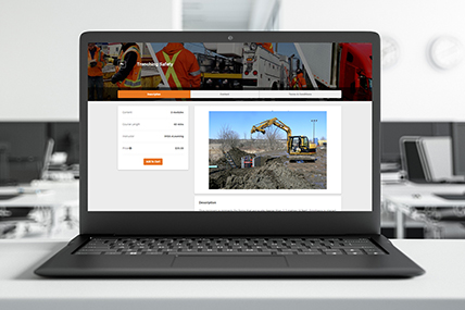Trenching Safety eLearning course