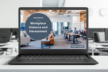 Workplace Violence and Harassment eLearning course