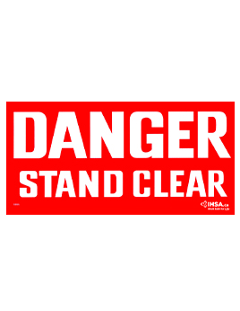 Danger Stand C ..