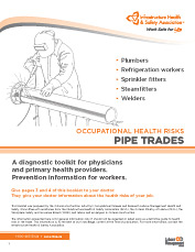 Occupational Health Risks: Pipe Trades