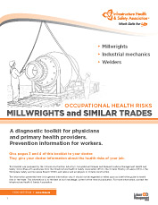 Occupational Health Risks: Millwrights