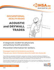 Occupational Health Risks: Acoustic and Drywall Trades