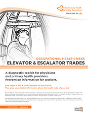 Occupational Health Risks: Elevator and Escalator Trades