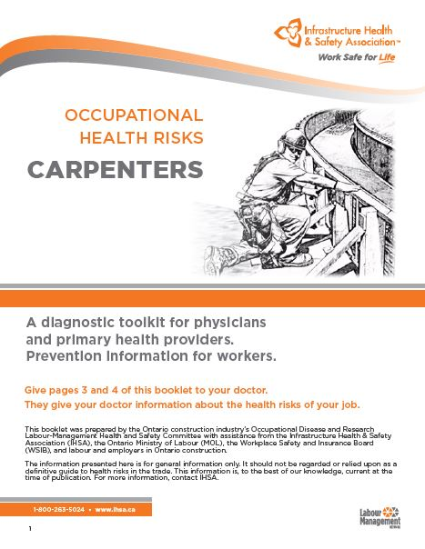Occupational Health Risks: Carpenters