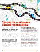 Sharing the road means sharing responsibility